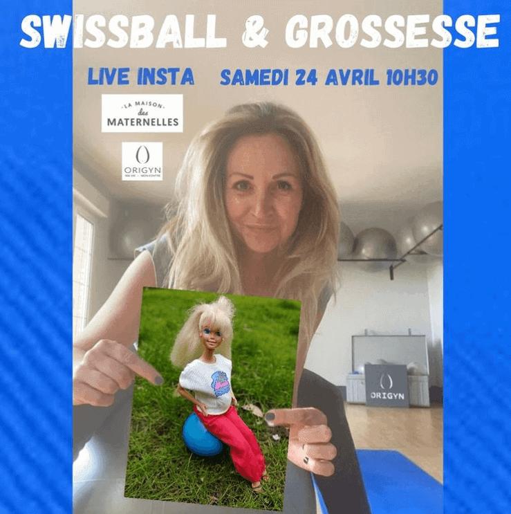 Swissball & grossesse